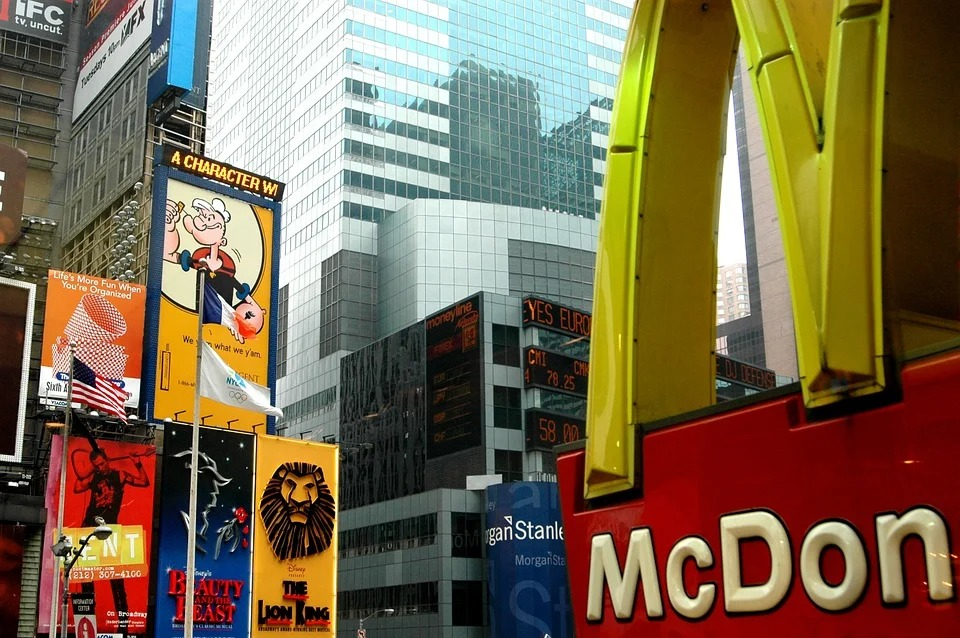 ニューヨークのMacDonald